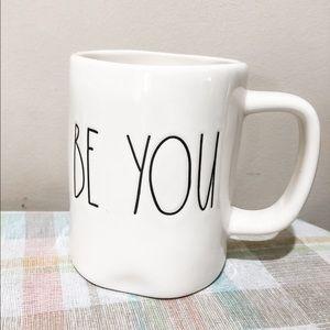 """Rae Dunn - """"BE YOU"""" mug"""